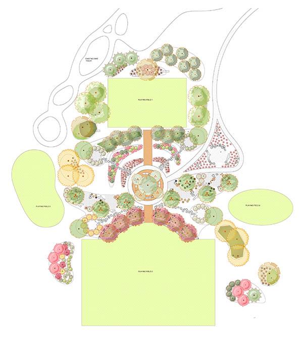 Simple Oval Design Plan