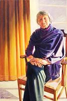 Photograph of portrait of Patricia Cooper